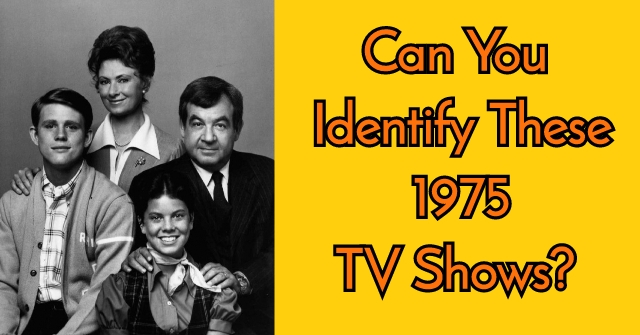 Can You Identify These 1975 TV Shows?