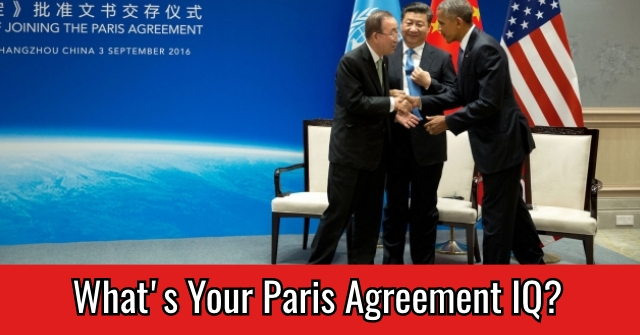 What's Your Paris Agreement IQ?
