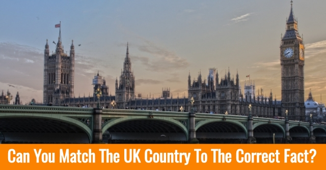 Can You Match The UK Country To The Correct Fact?
