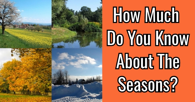 How Much Do You Know About The Seasons?