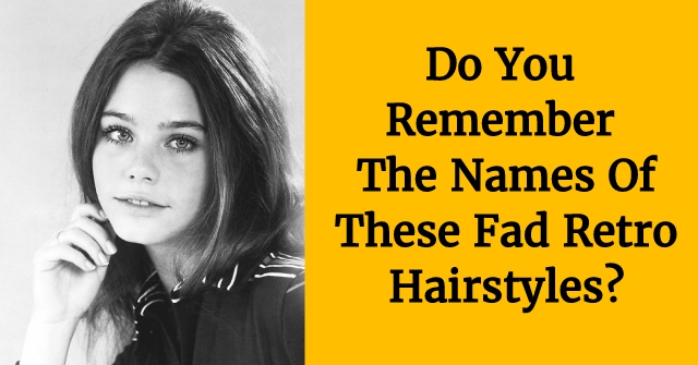 Do You Remember The Names Of These Fad Retro Hairstyles?