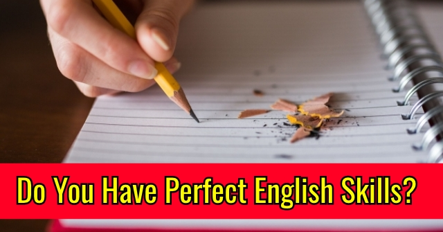 Do You Have Perfect English Skills?