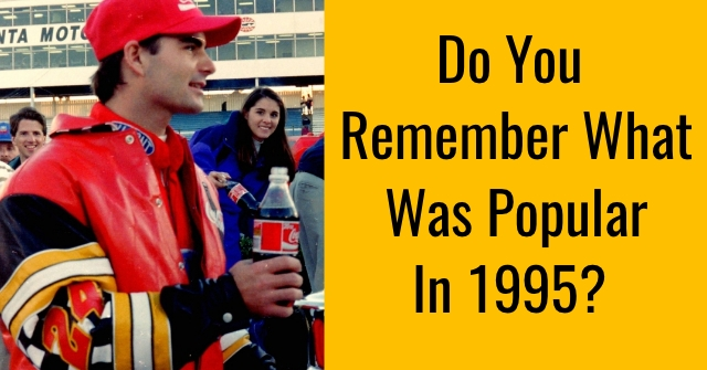 Do You Remember What Was Popular In 1995?