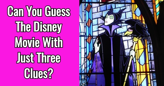 Can You Guess The Disney Movie With Only Three Words?