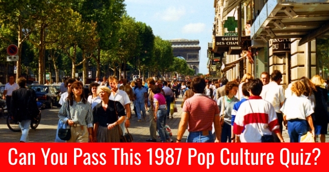 Can You Pass This 1987 Pop Culture Quiz?