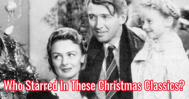 Who Starred In These Christmas Classics?