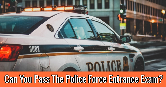 Can You Pass The Police Force Entrance Exam?