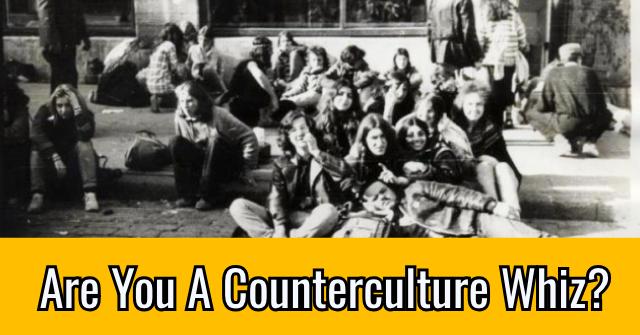 Are You A Counterculture Whiz?