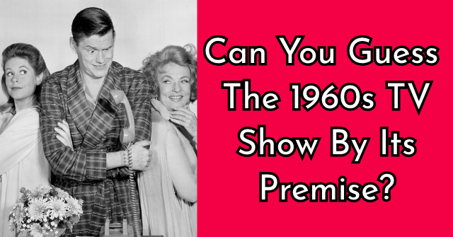 Can You Guess The 1960s TV Show By Its Premise?