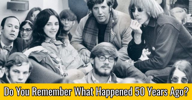 Do You Remember What Happened 50 Years Ago?