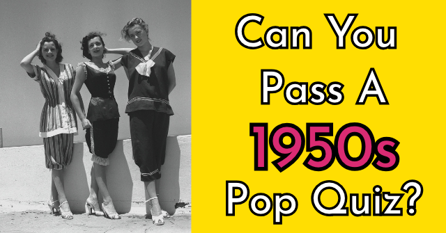 Can You Pass A 1950s Pop Quiz?