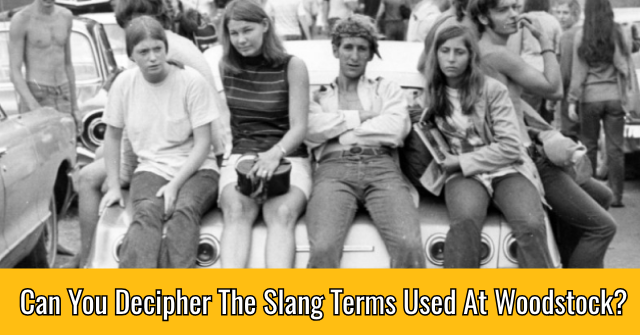 Can You Decipher The Slang Terms Used At Woodstock?