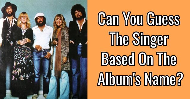 Can You Guess The Singer Based On The Album's Name?