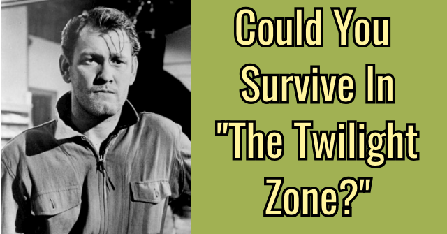 "Could You Survive In ""The Twilight Zone?"""