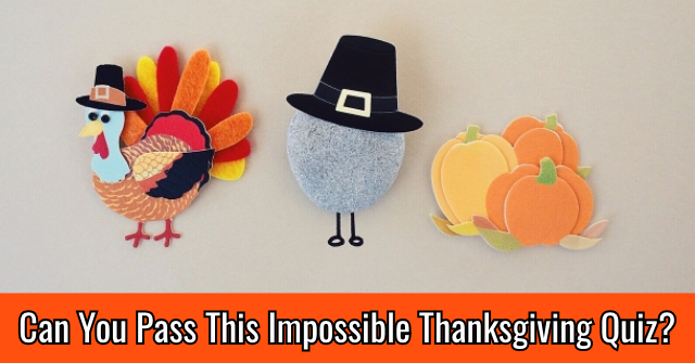 Can You Pass This Impossible Thanksgiving Quiz?