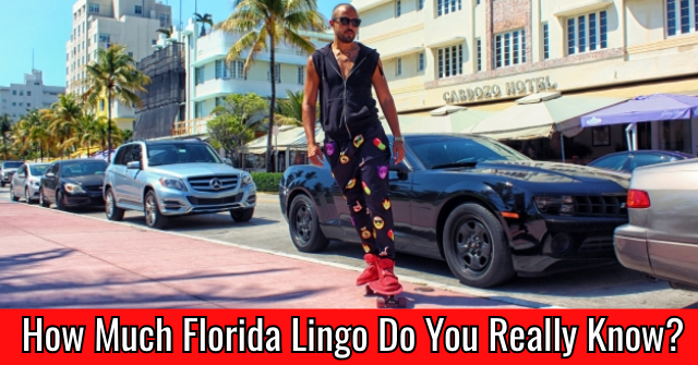 How Much Florida Lingo Do You Really Know?
