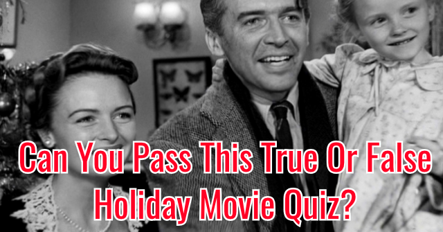 Can You Pass This True Or False Holiday Movie Quiz?