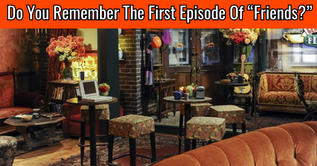 "Do You Remember The First Episode Of ""Friends?"""