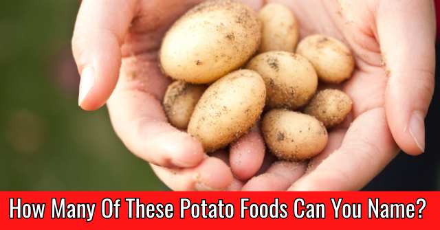 How Many Of These Potato Foods Can You Name?