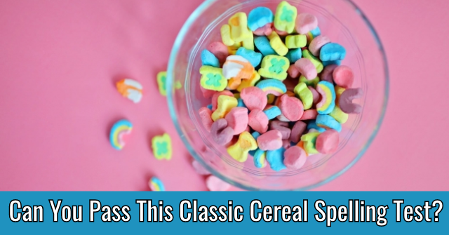 Can You Pass This Classic Cereal Spelling Test?