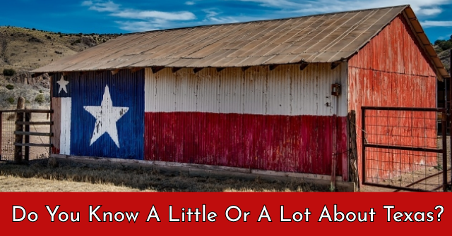 Do You Know A Little Or A Lot About Texas?