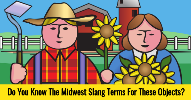 Do You Know The Midwest Slang Terms For These Objects?